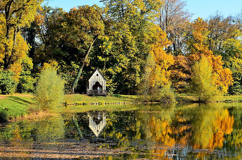 Park Forest Maksimir in Zagreb, Croatia